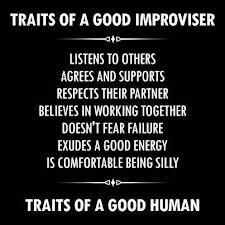 traits of a good improvisor