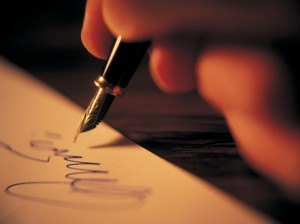 writing-with-pen